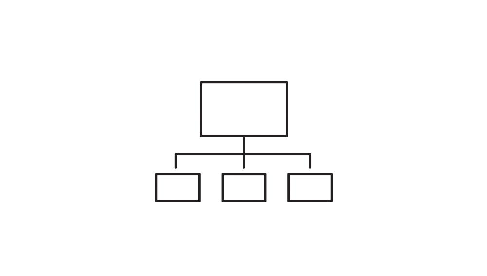 Flowchart with boxes