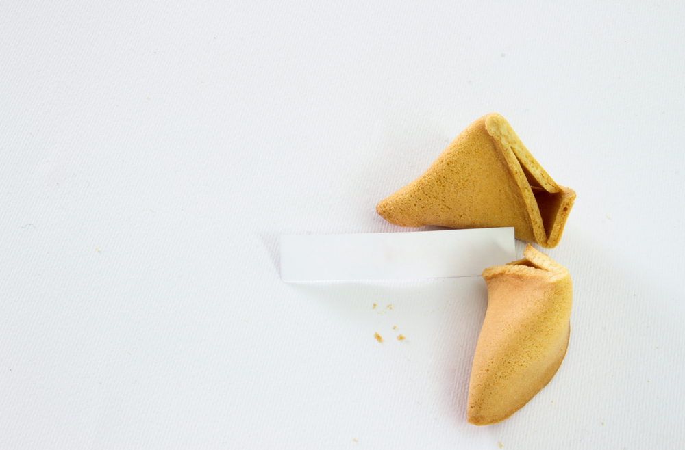 Fortune Cookie Slip