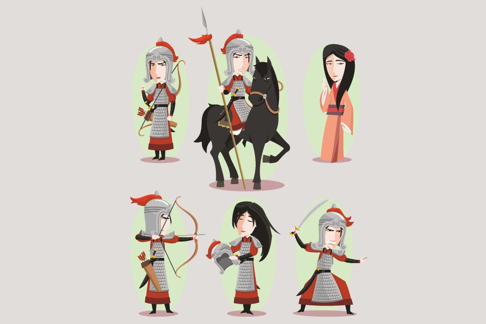 mulan characters