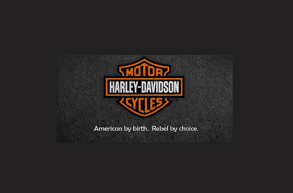 Harley Davidson slogan