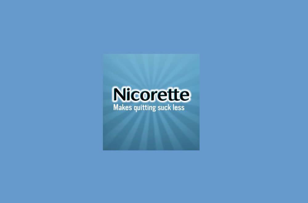 nicorette slogan