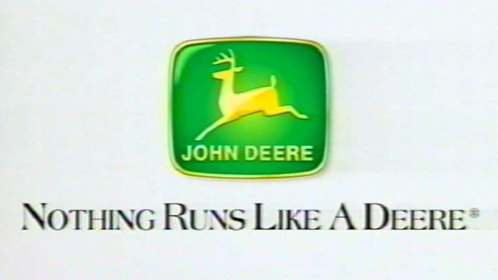 deere slogan