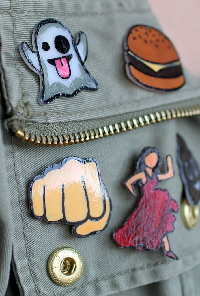 emoji pins diy