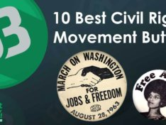 10 Iconic Buttons From The Civil Rights Era
