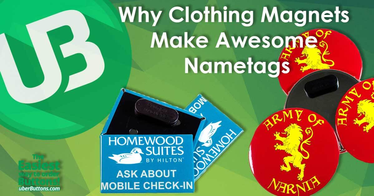 Why Clothing Magnets Make Awesome Nametags