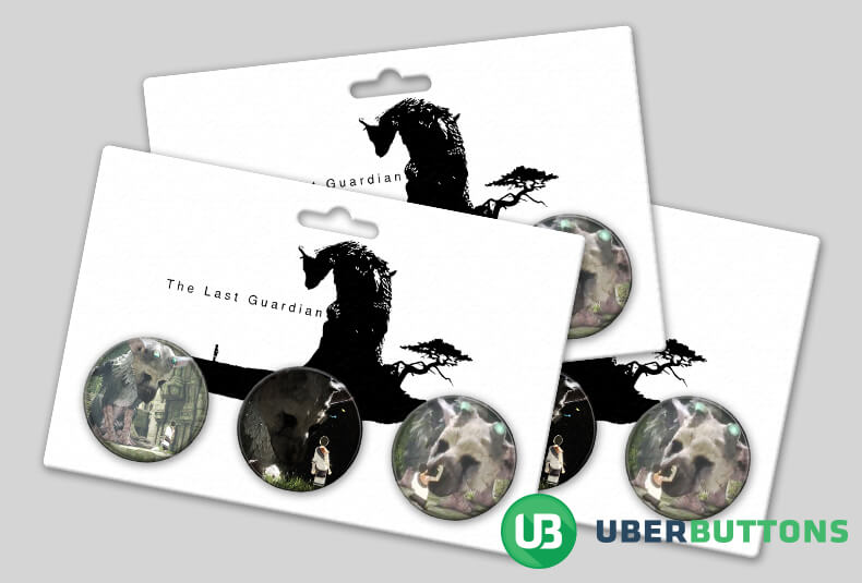 the last guardian button pack