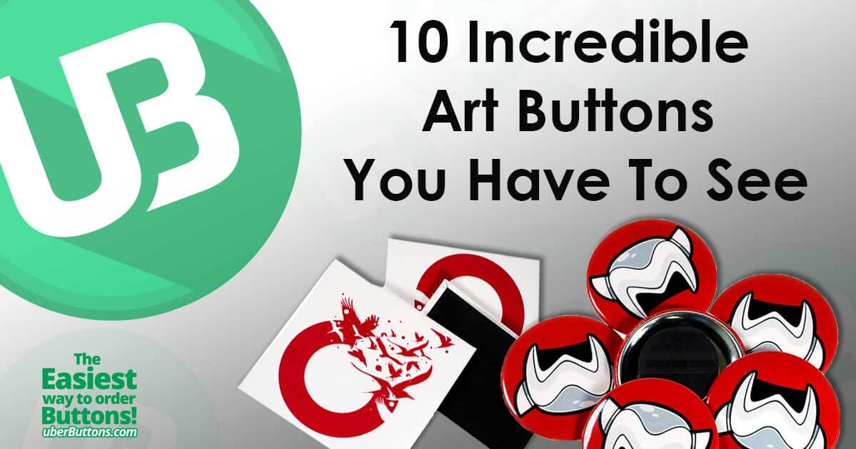 10 Incredible Art Buttons You Have To See
