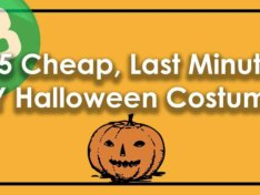 15 Cheap, Last Minute DIY Halloween Costumes