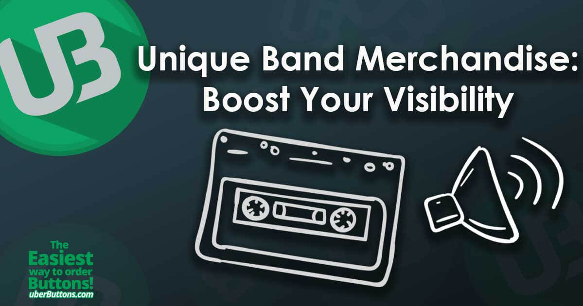 Unique Band Merchandise: Boost Your Visibility