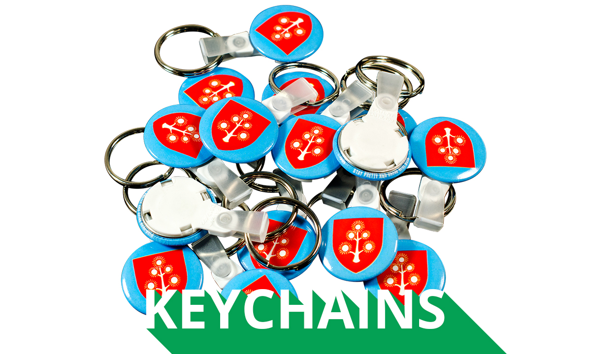 Key Chain Buttons