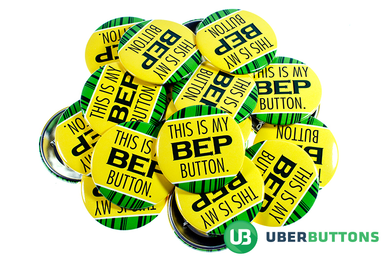 This Is My BEP Button