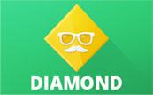Diamond Button Template