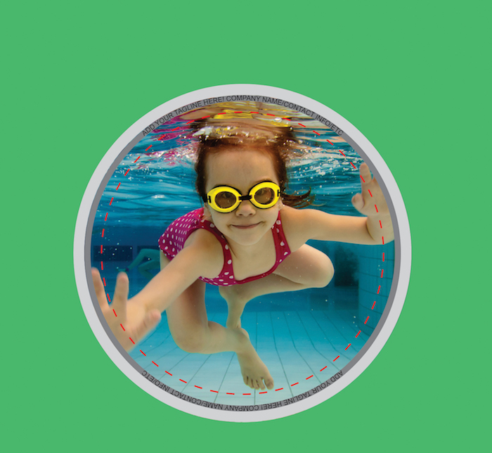 Youth Swimming Buttons